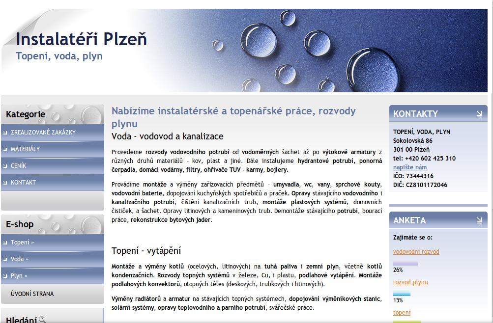 Instalatér pro Plzeň