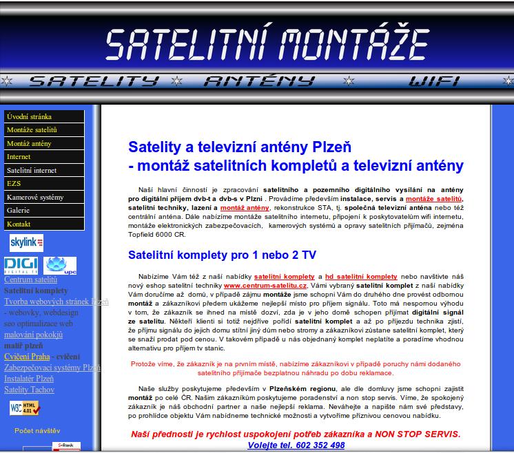 www.satelitnimontaze.cz
