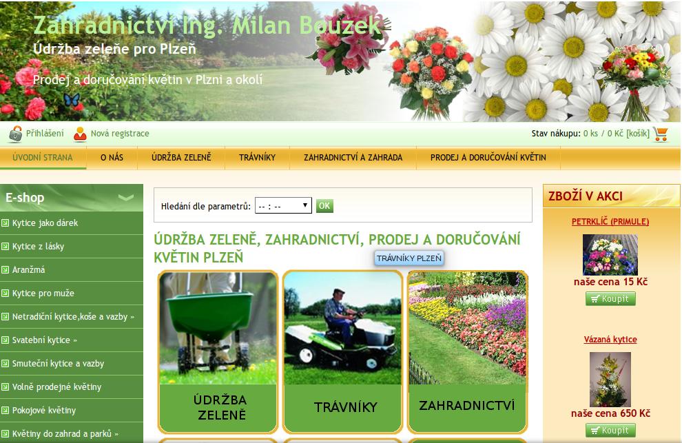 Zahradnictví Plzeň